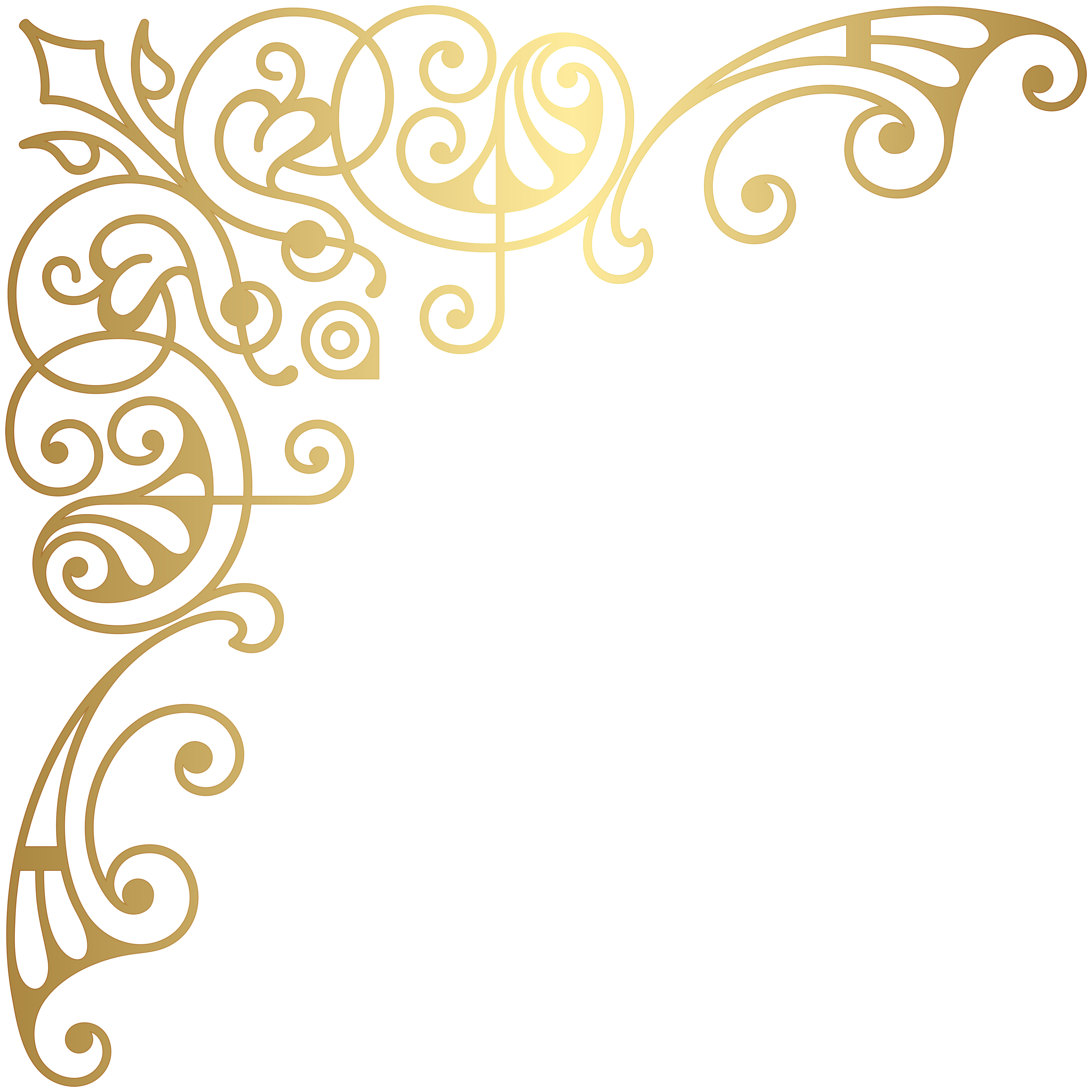 Gold corner borders png. Related image sommer clip