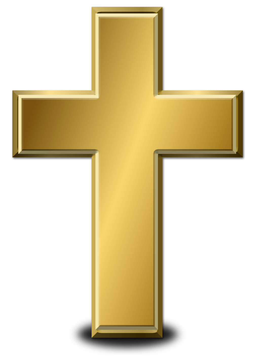 Gold free icons and. Jesus cross png vector free library