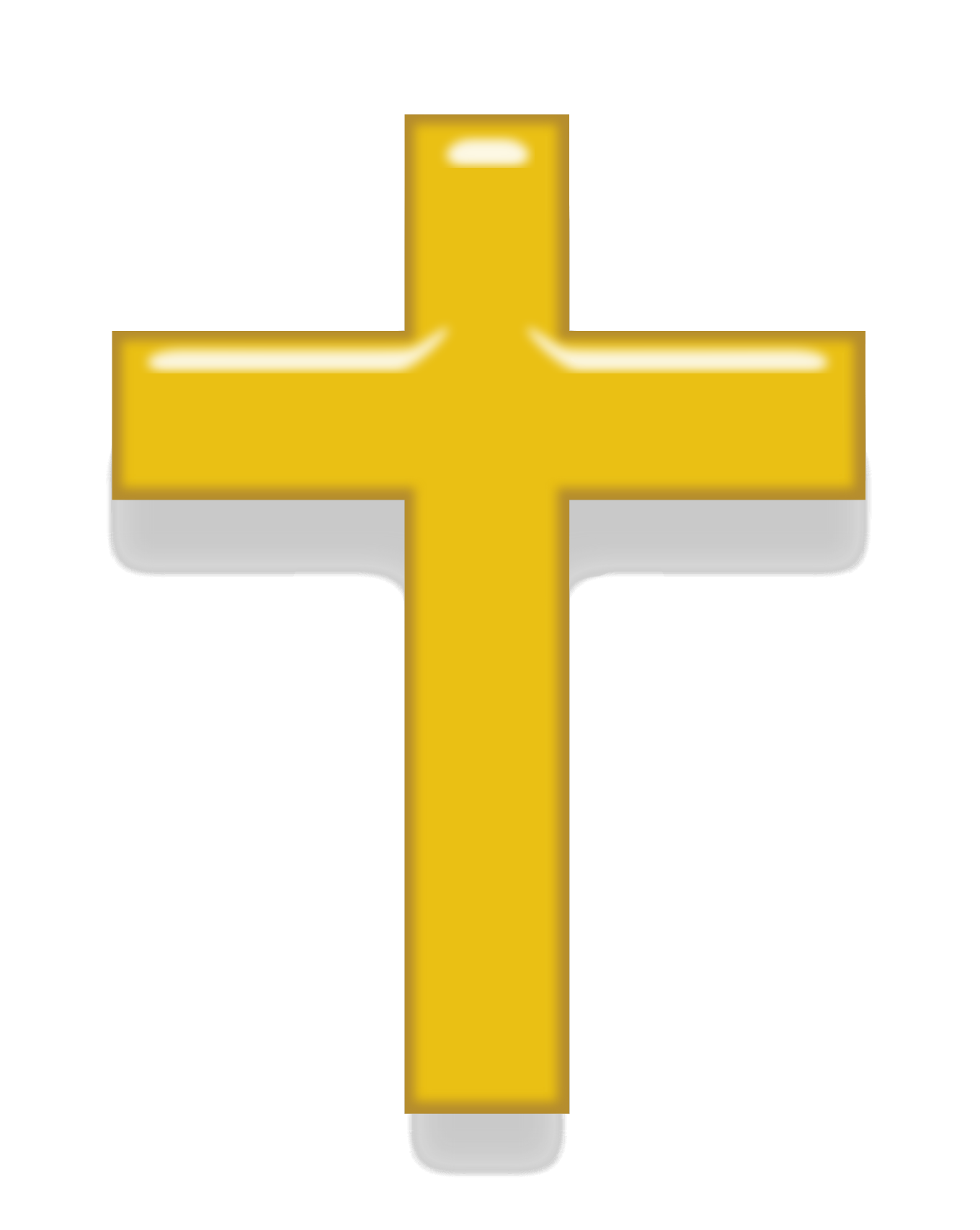 Gold cross png. Free icons and backgrounds