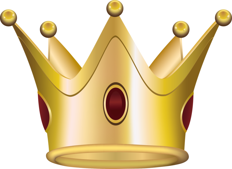Gold crown vector png. Golden free icons and
