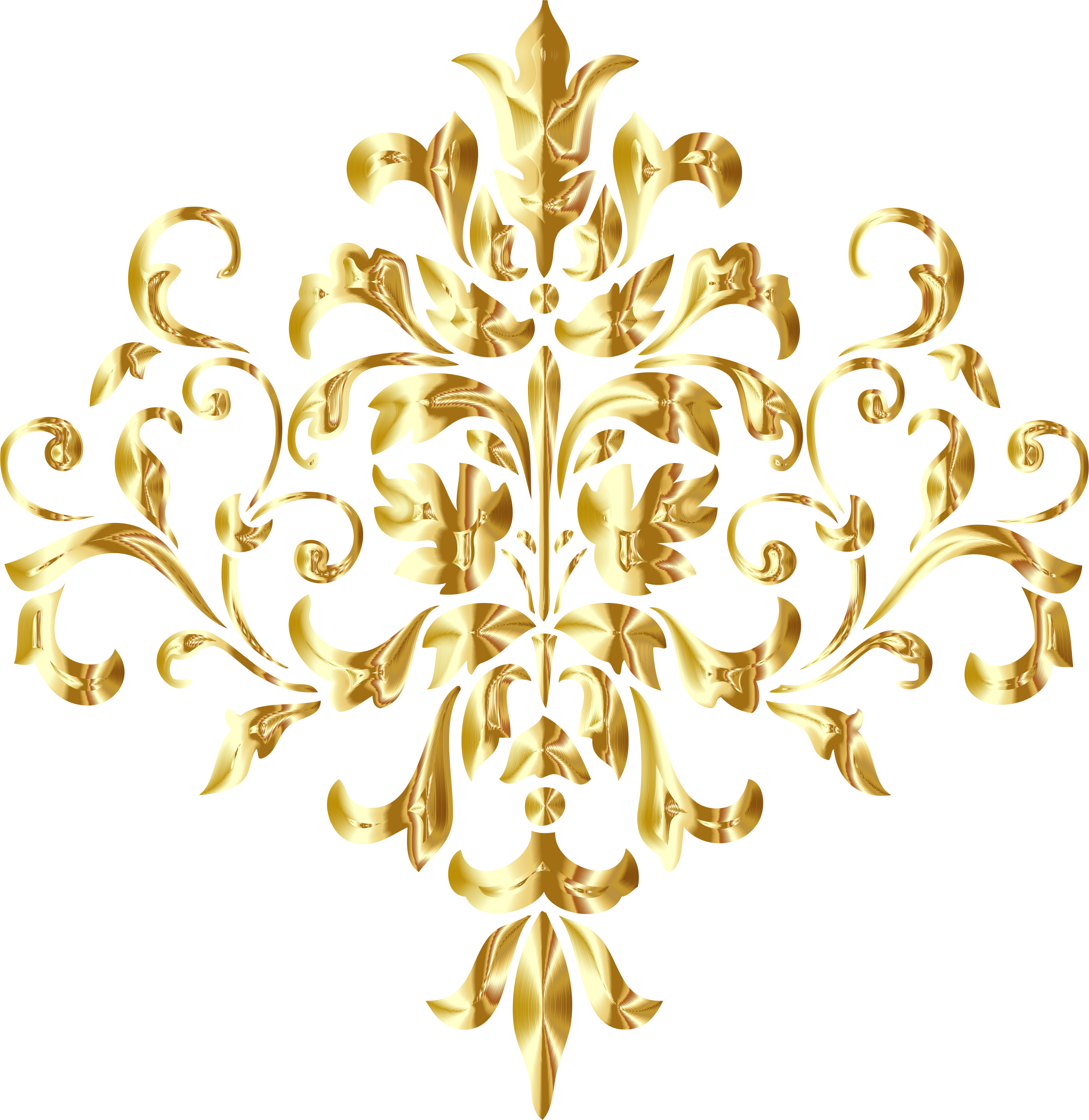 Gold patterns png. The gallery for corner