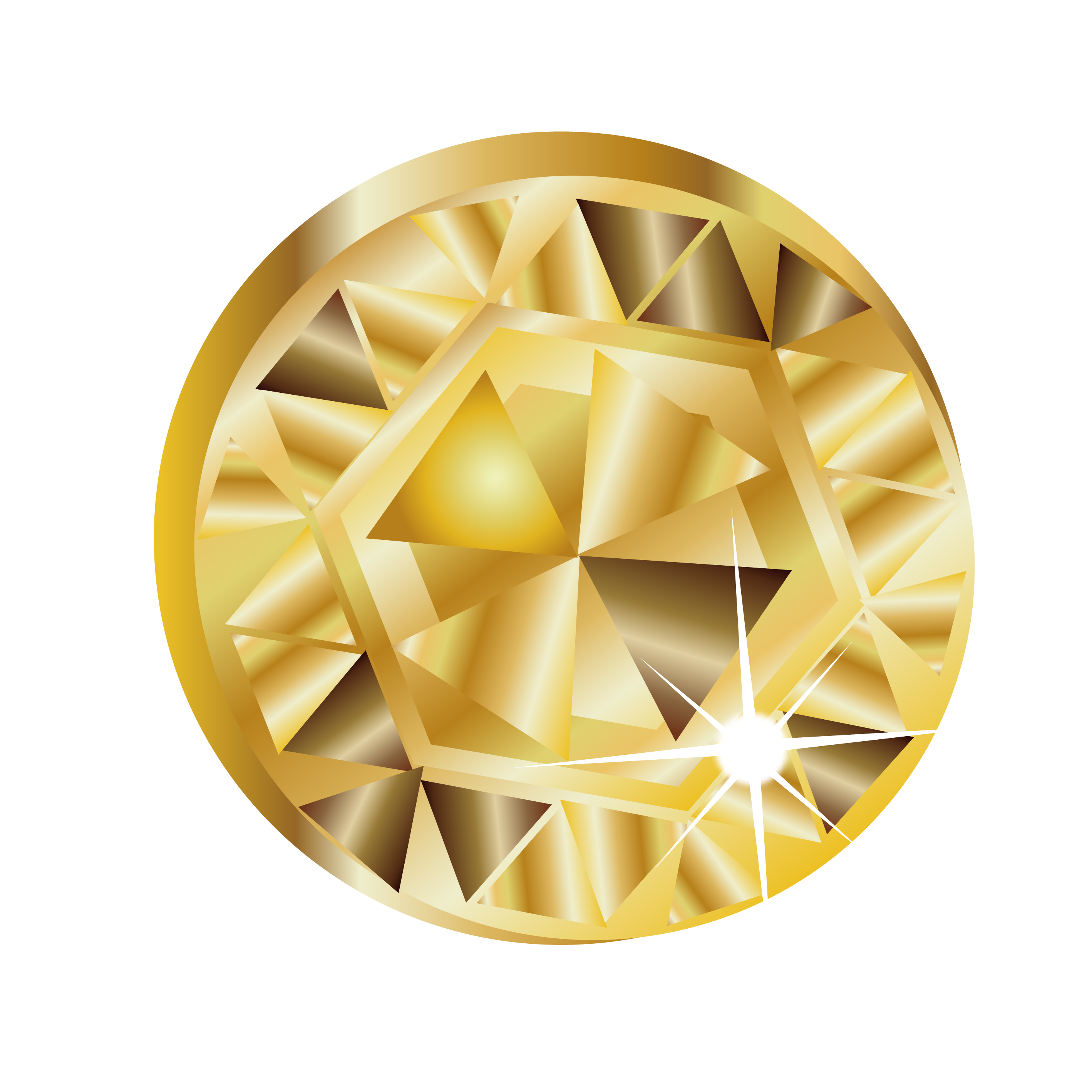 Gold diamond png. Yellow cuisine transprent free