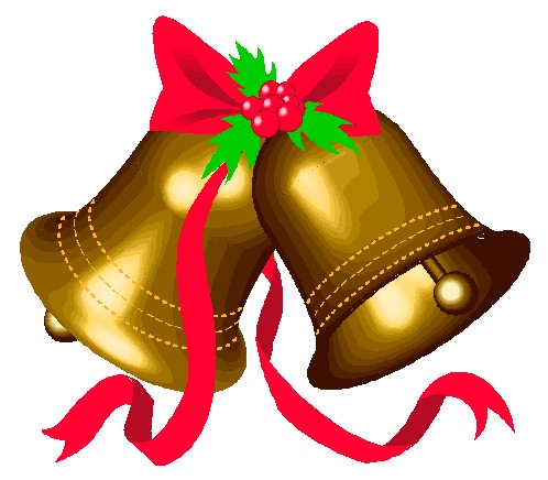 Gold diving bell. Free christmas bells images