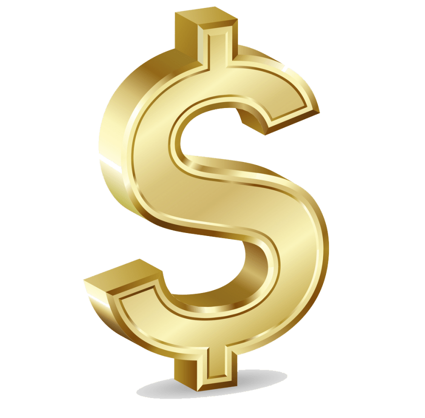 Gold dollar png. Free images toppng transparent