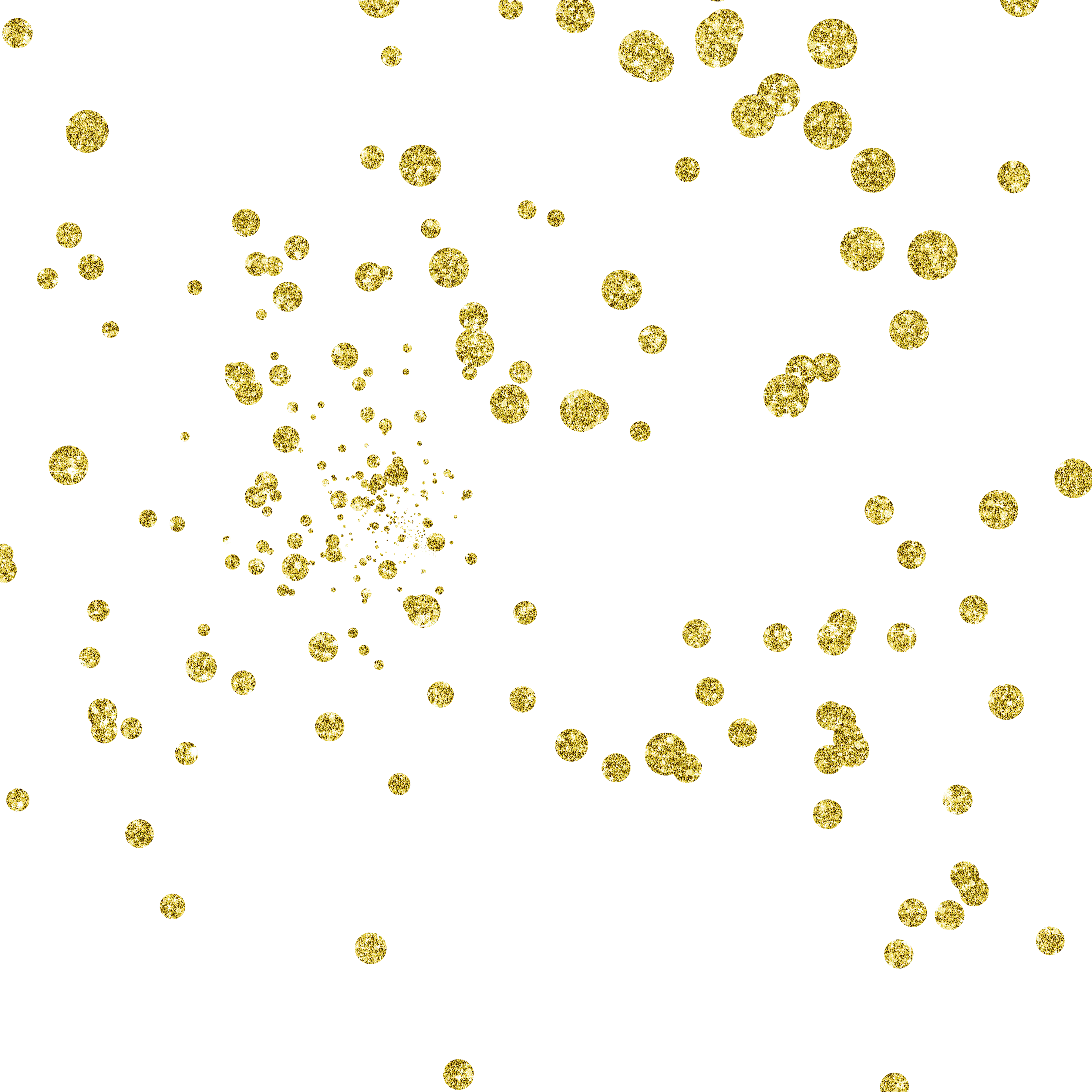 Gold dots png. Point dynamic floating material