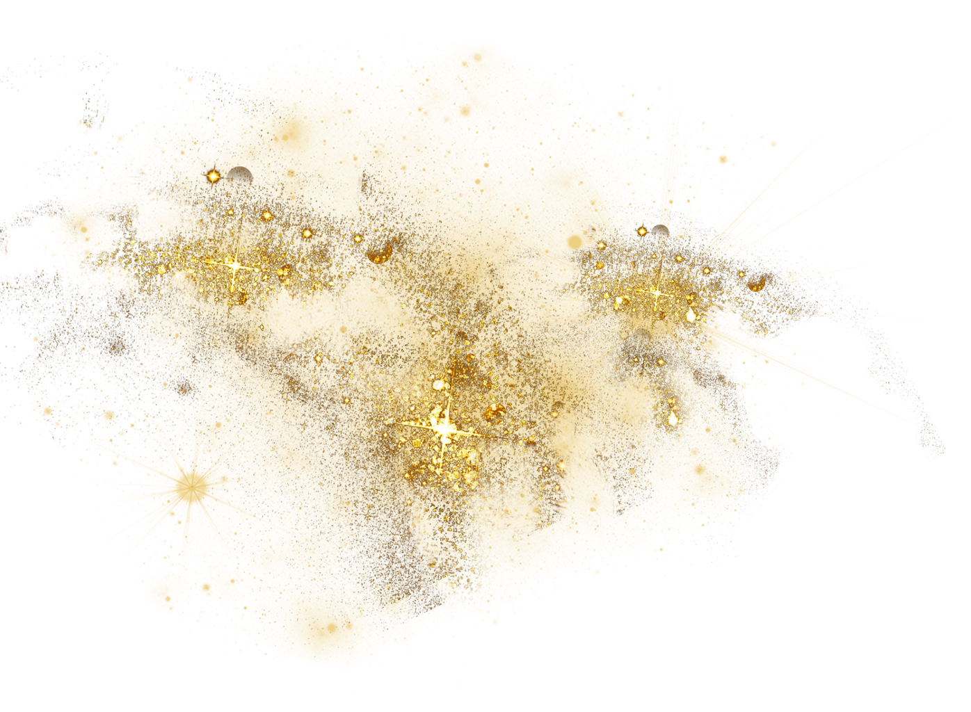 Gold dust png. Sparkles glitter
