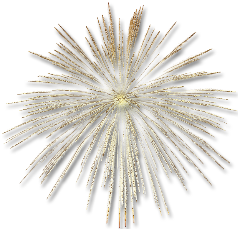 Gold effect png. Transparent fireworks gallery yopriceville
