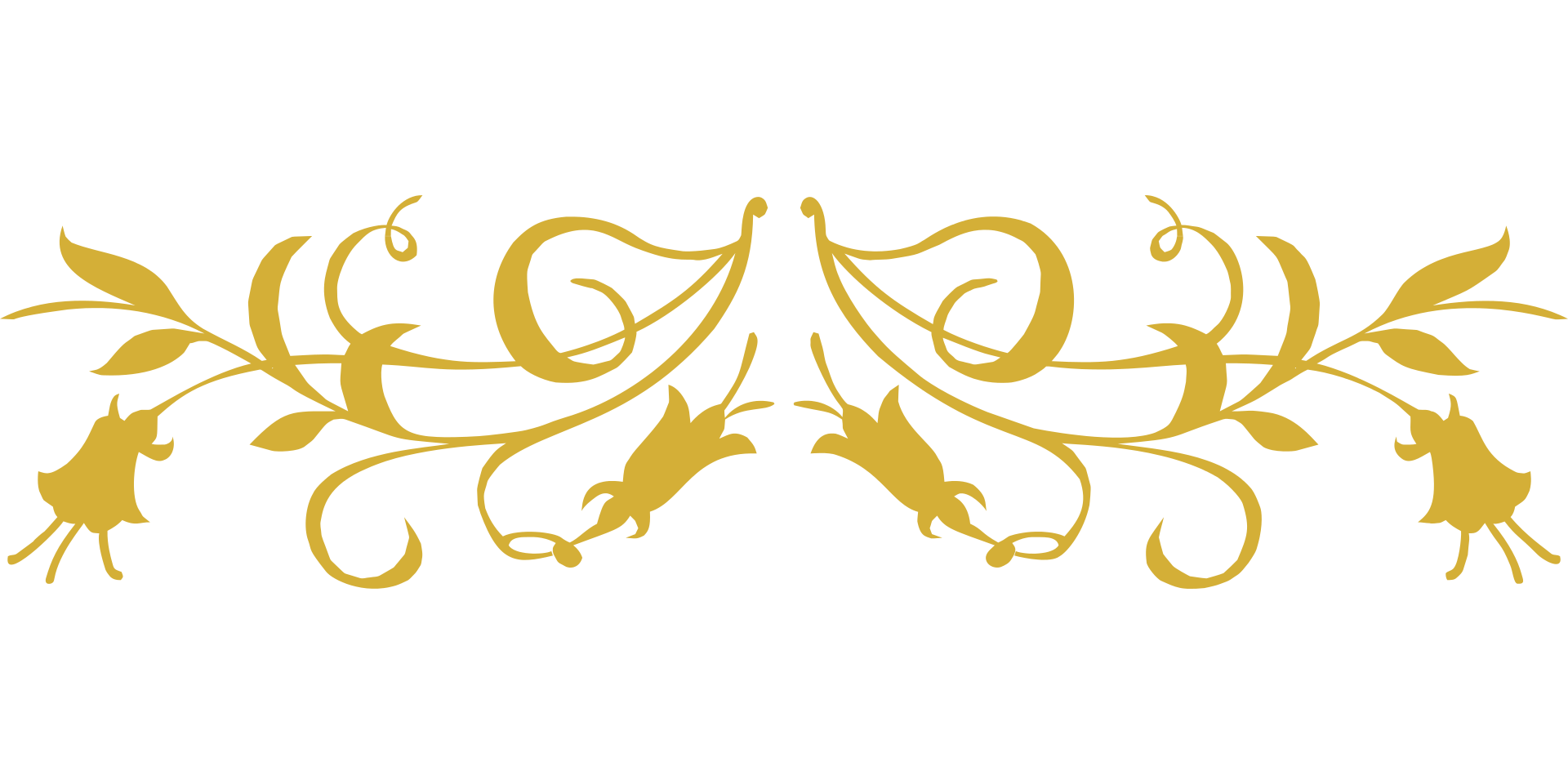 Gold flourish png. Weddings with terry