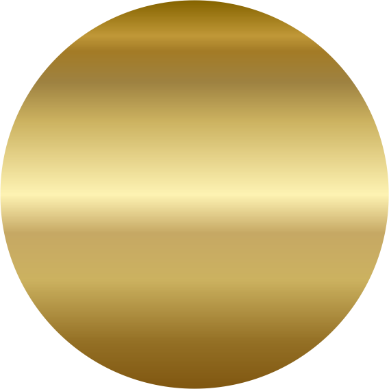 gold foil circle png