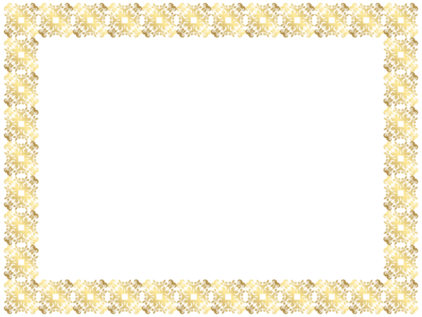 Gold frame border png. Download clipart photo toppng