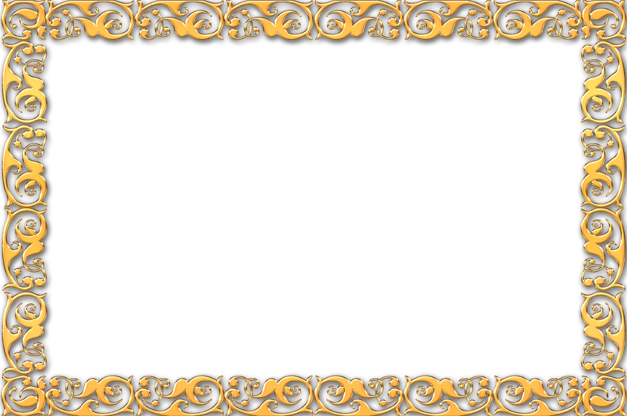 Gold frame border png. Clipart the principled society