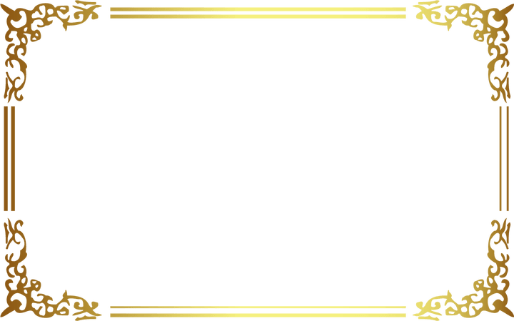 Gold frame border png. Images in collection page