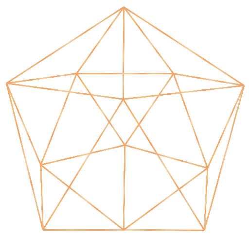 Gold geometric shapes png. Day energy reset