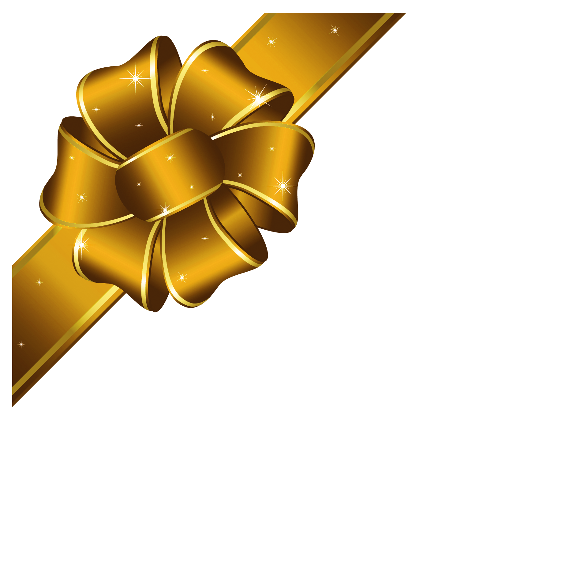 Golden ribbon png. Collection of gold