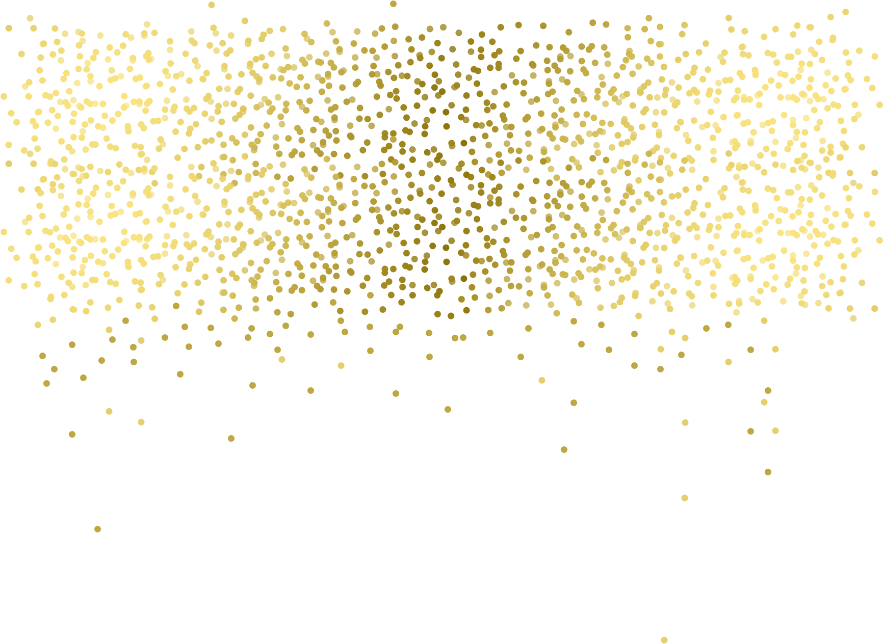 Falling confetti png. Download gold transparent glitter