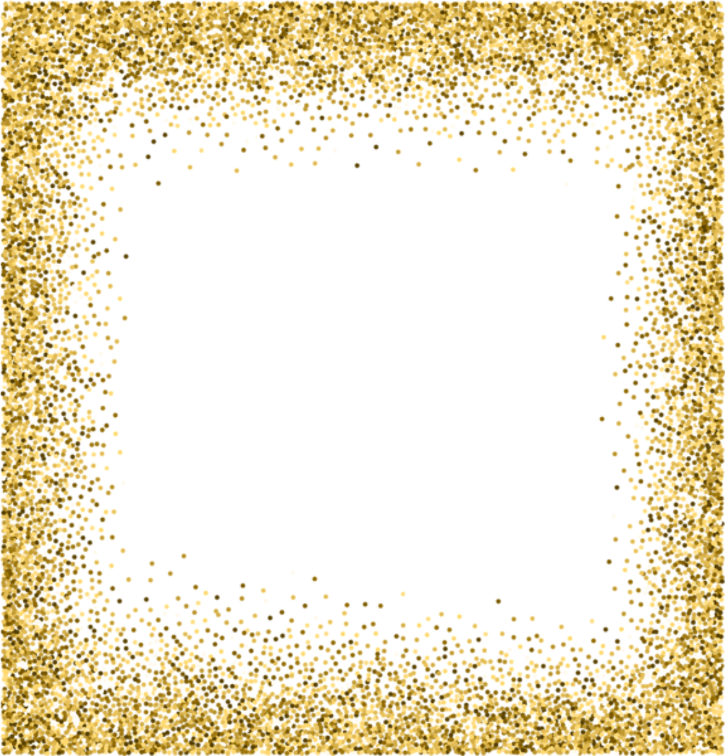 Gold glitter background png. Gro z gig frame