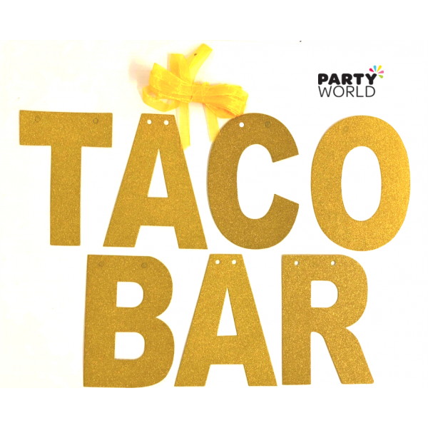 Gold taco bar cancel. Glitter banner png png transparent download