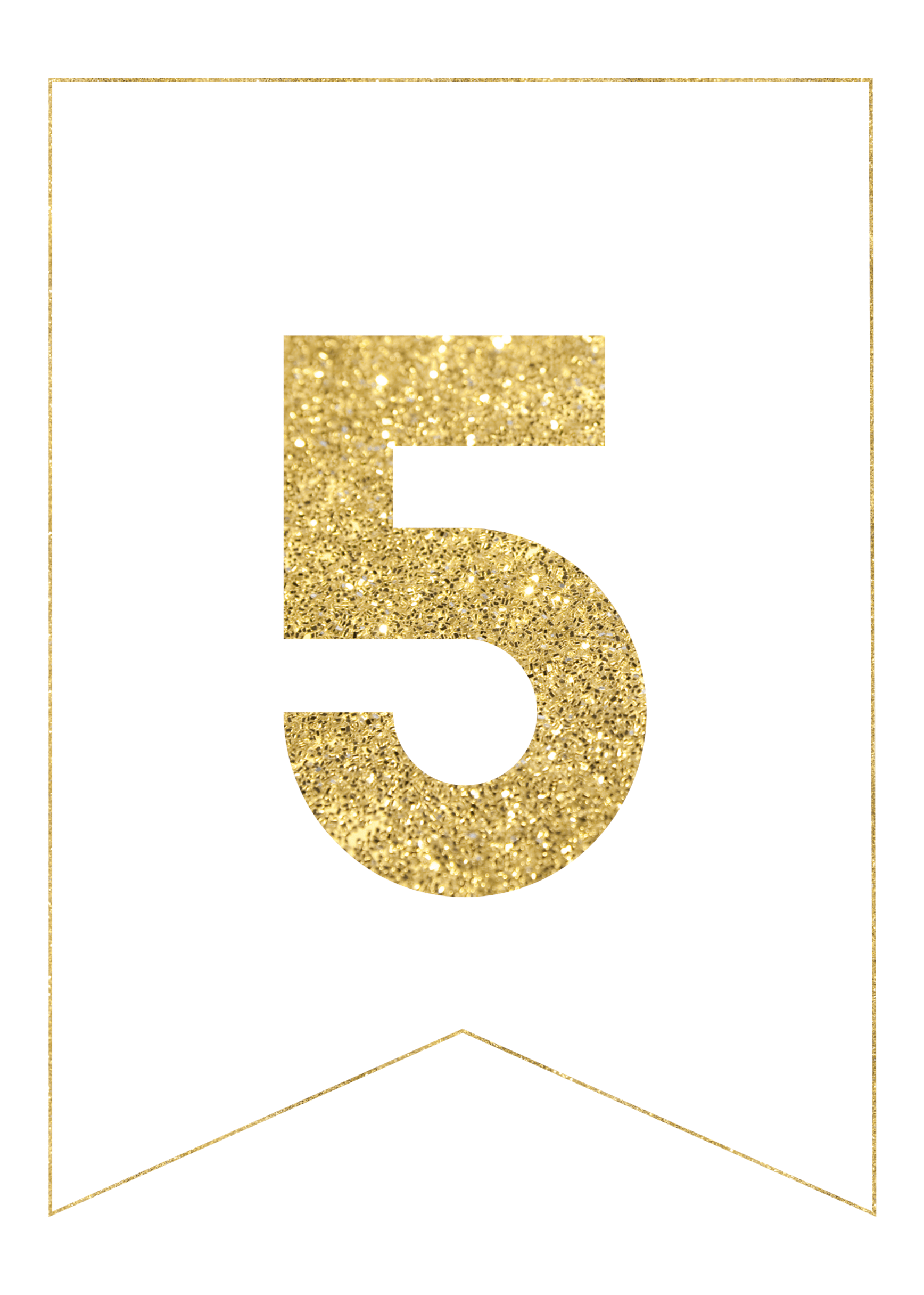 Gold glitter banner png. Free printable letters paper