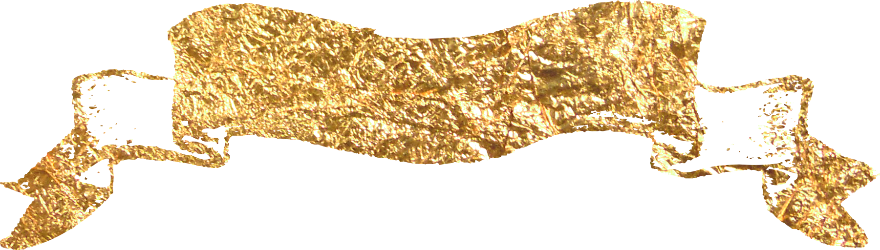 Gold glitter banner png. Material transprent free download