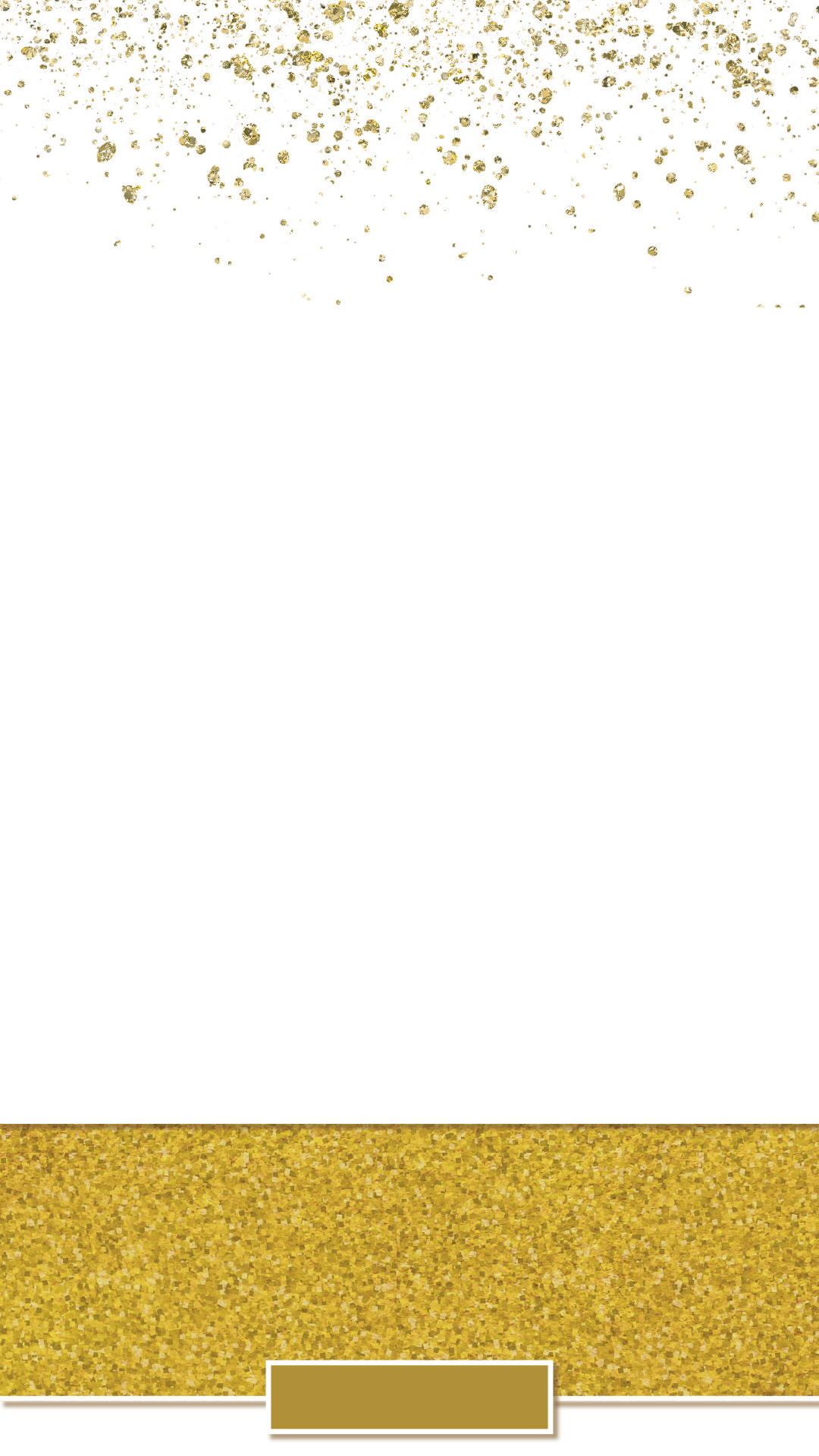Wedding snapchat filter geofilter. Gold glitter banner png svg black and white stock