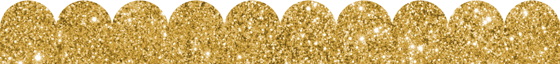 Gold glitter border png. Scalloped templates in any