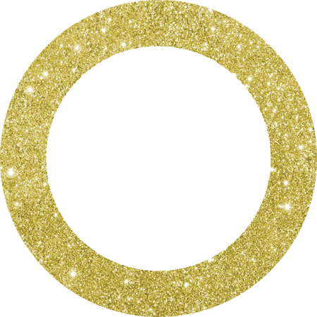 Glitter circle png. Gold images in collection