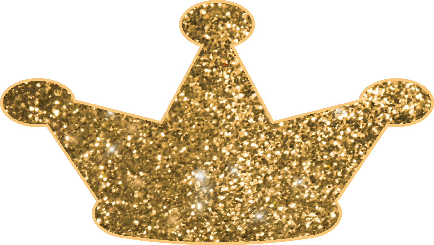 Gold glitter crown png. Sticker by janet