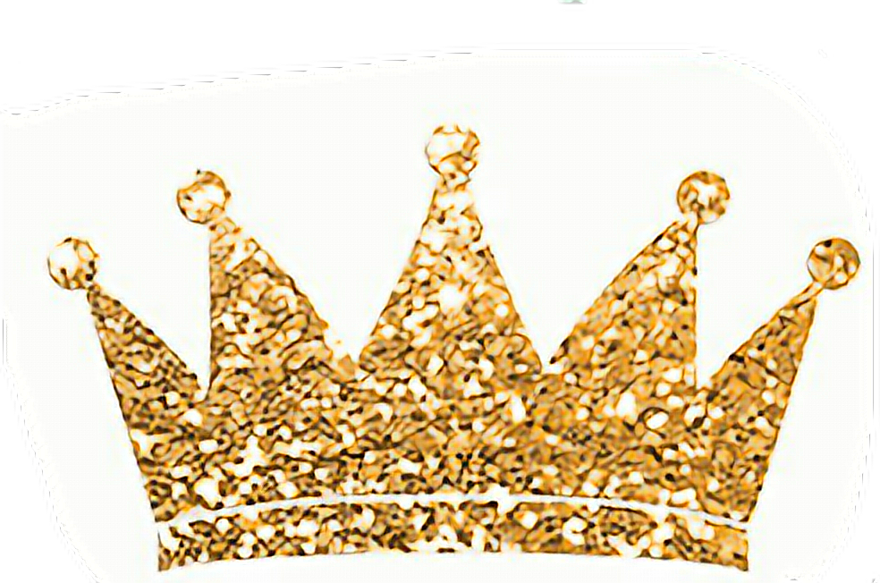 Gold glitter crown png. Princess freetoedit report abuse