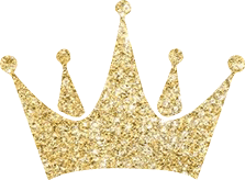 Gold glitter crown png. Clipart images