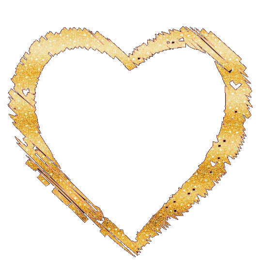 Gold glitter heart png. By nayeliforever on deviantart