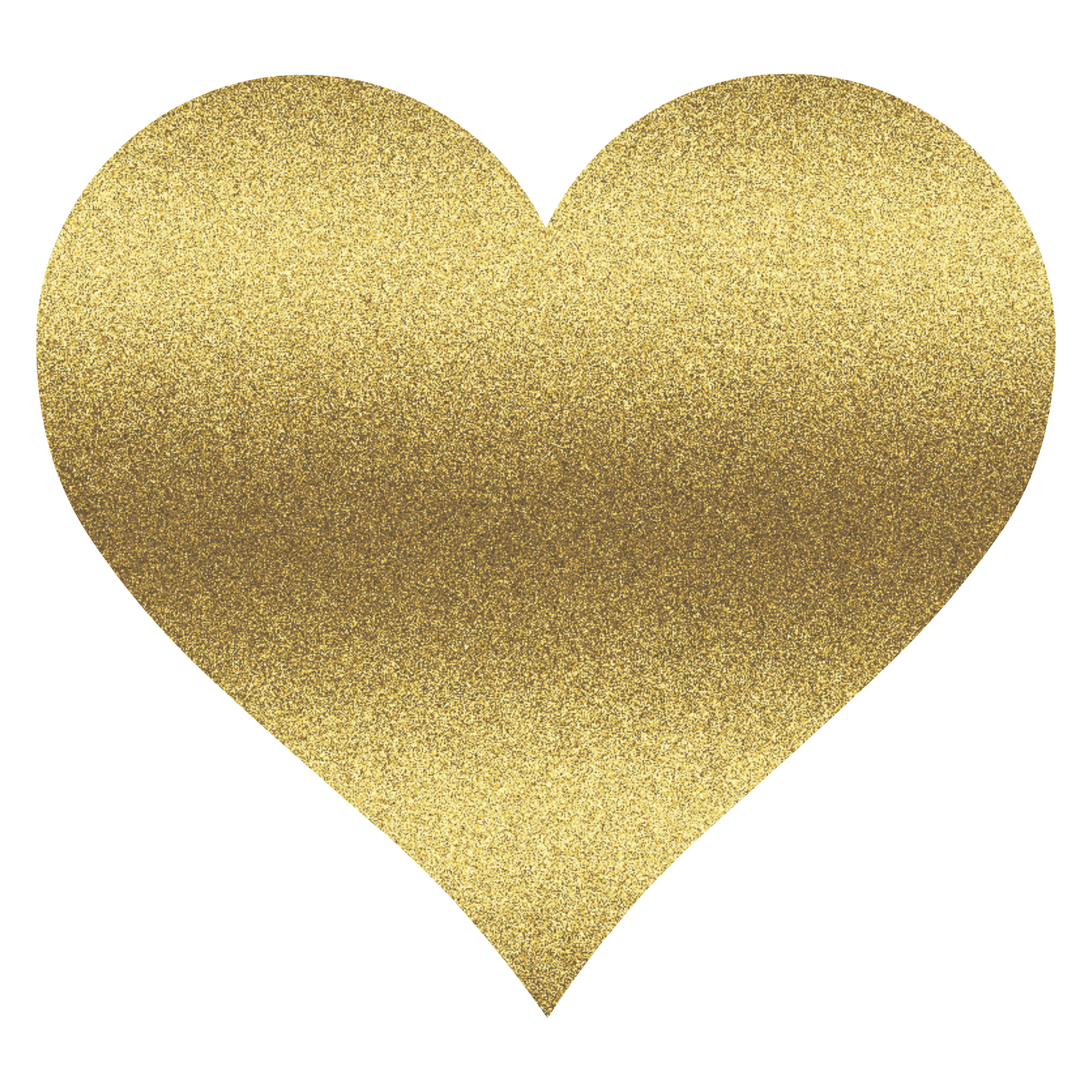 Gold glitter heart png. Transparent images clipart
