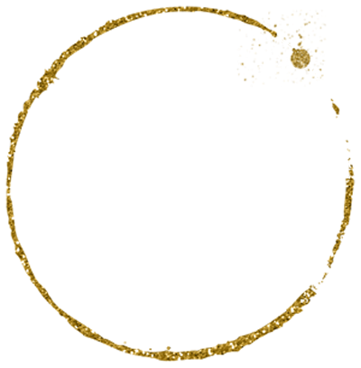 gold glitter labels png