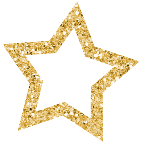 Gold glitter star png. Aapss itsmyparty arrow group
