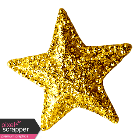 Gold glitter star png. Sweet dreams elements graphic
