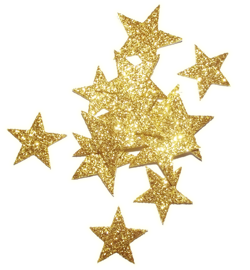Gold glitter star png. The seventh anything goez