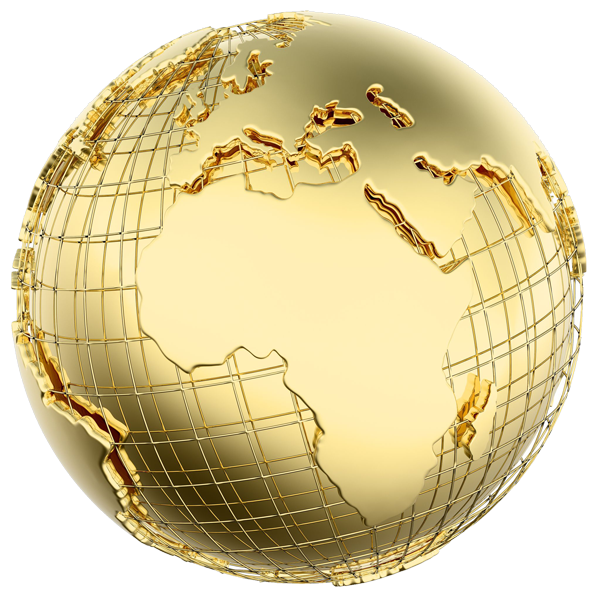 Gold globe png. Lashay durisseau ministries oakland