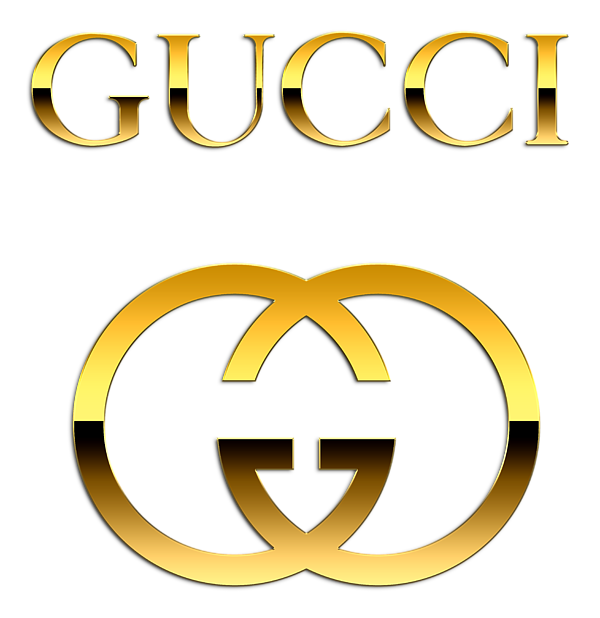 Gold gucci logo png. Exclusive fleece blanket for