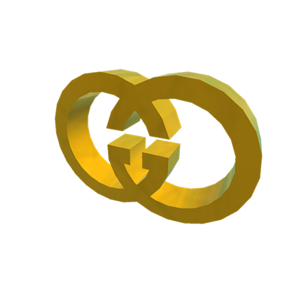 gucci logo gold png