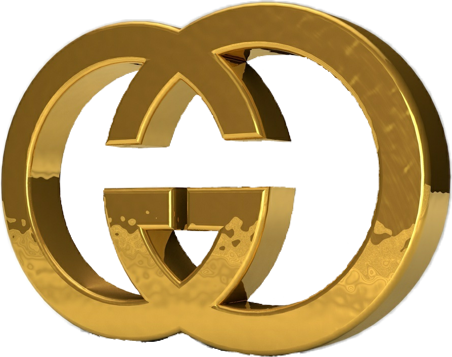 Gold gucci logo png. Freetoedit guccigang sticker guccil