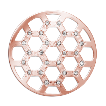 Gold honeycomb png. Small rose coin for