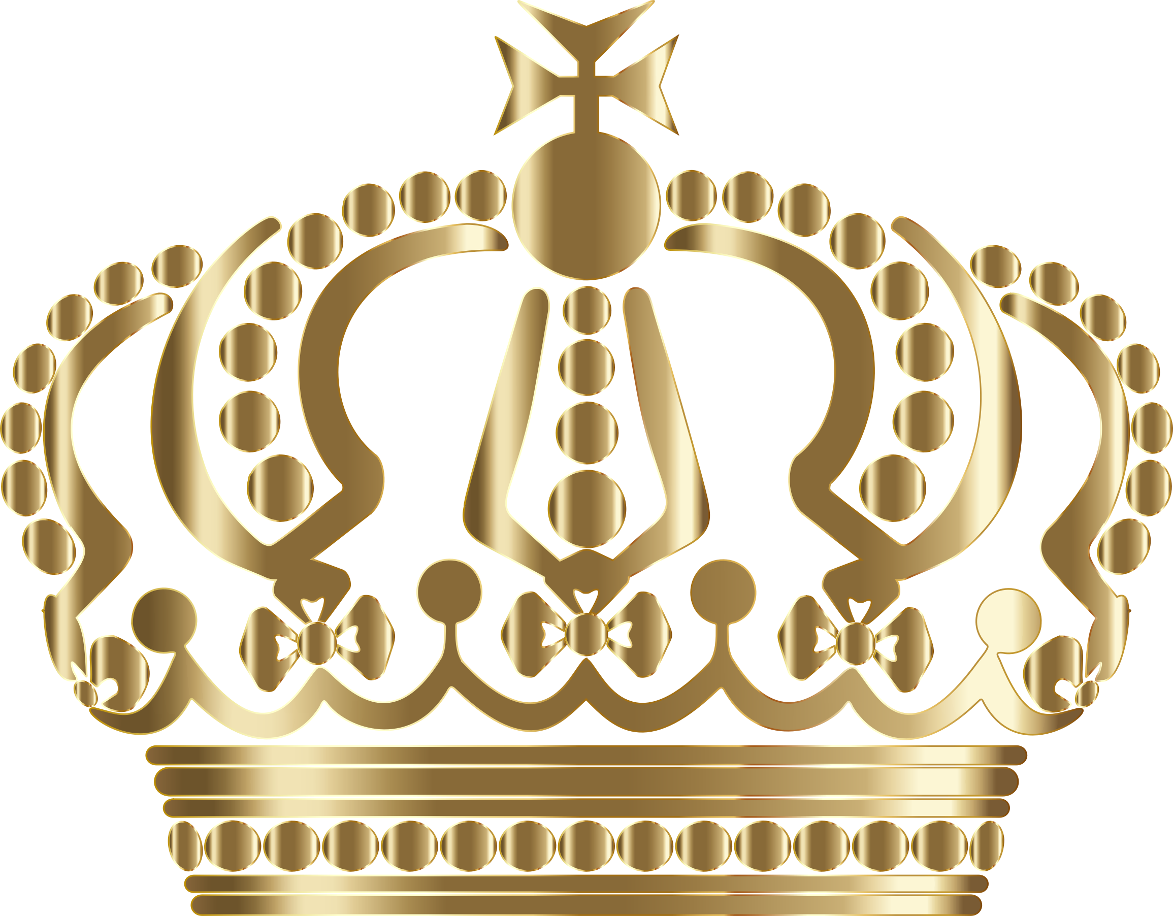Gold king crown png. Clipart german imperial no