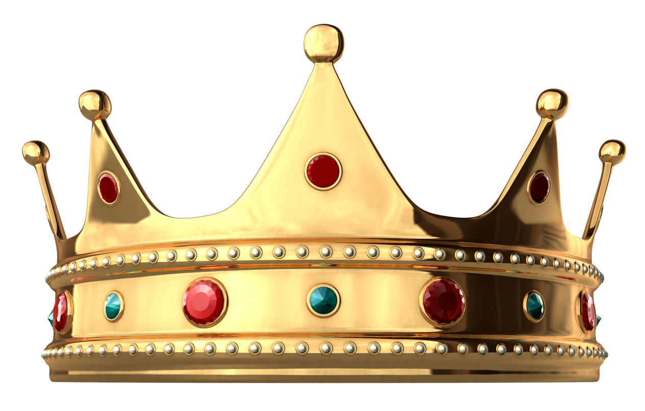 Gold king crown png. With diamonds clipart gallery