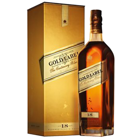 Gold label png. Whisky johnnie walker years