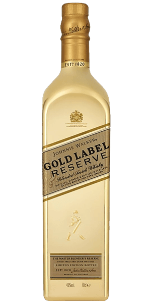 Gold label png. Johnnie walker reserve golden