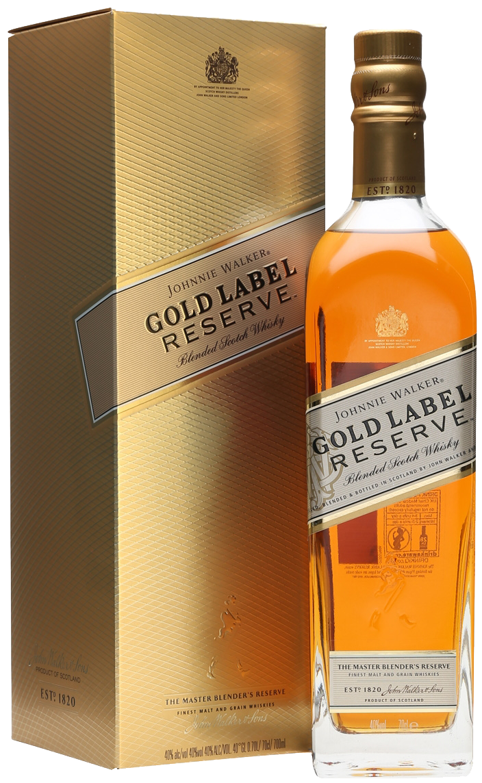 Gold label png. Johnnie walker res whisky