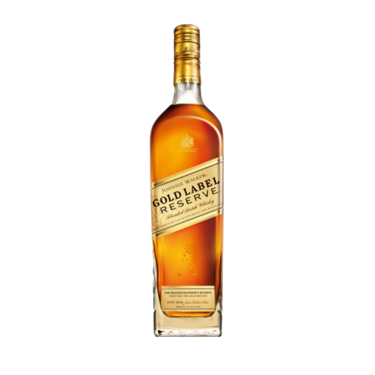 Gold label png. Johnnie walker reserve cl
