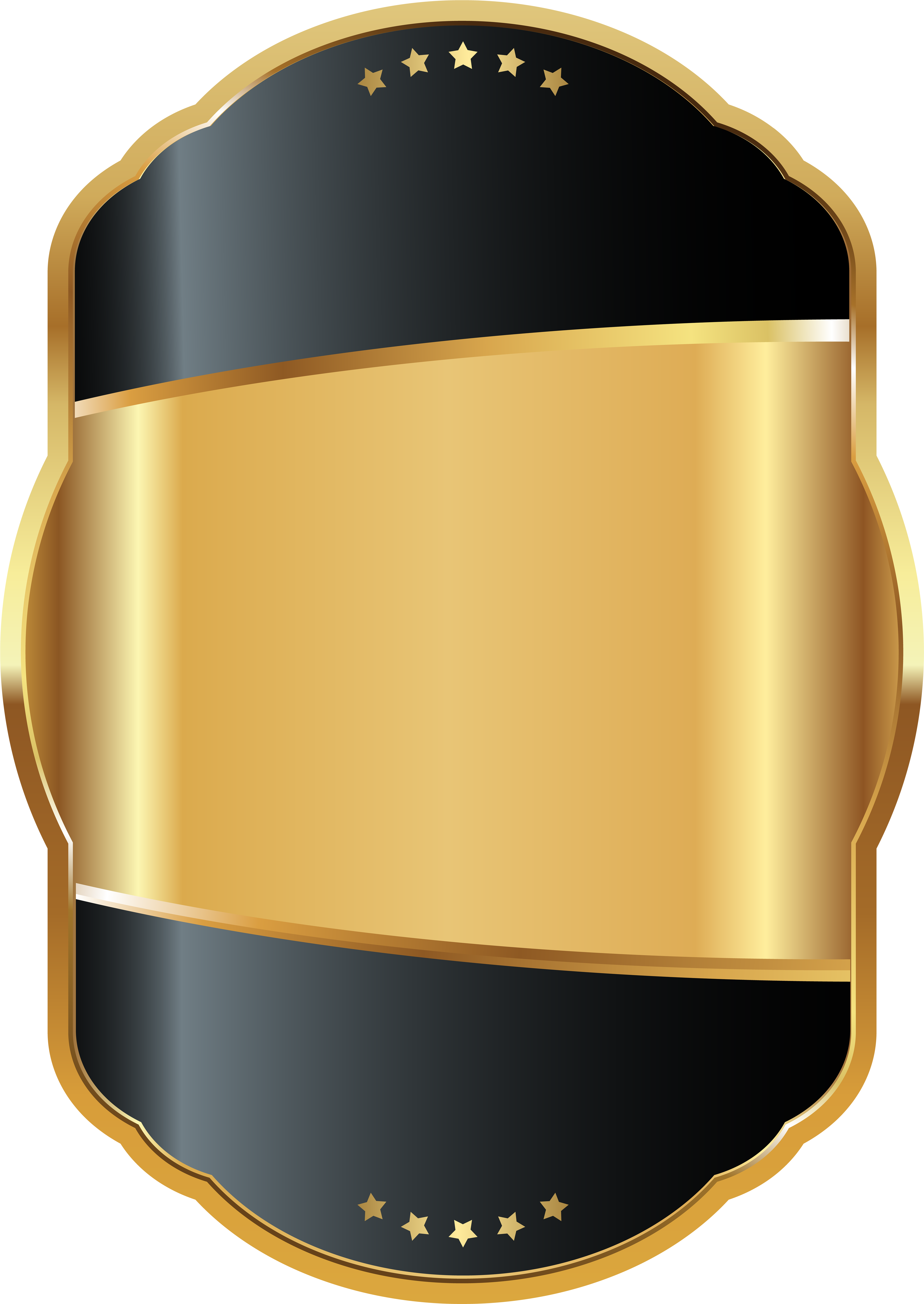 Gold labels png. Download brown hd image