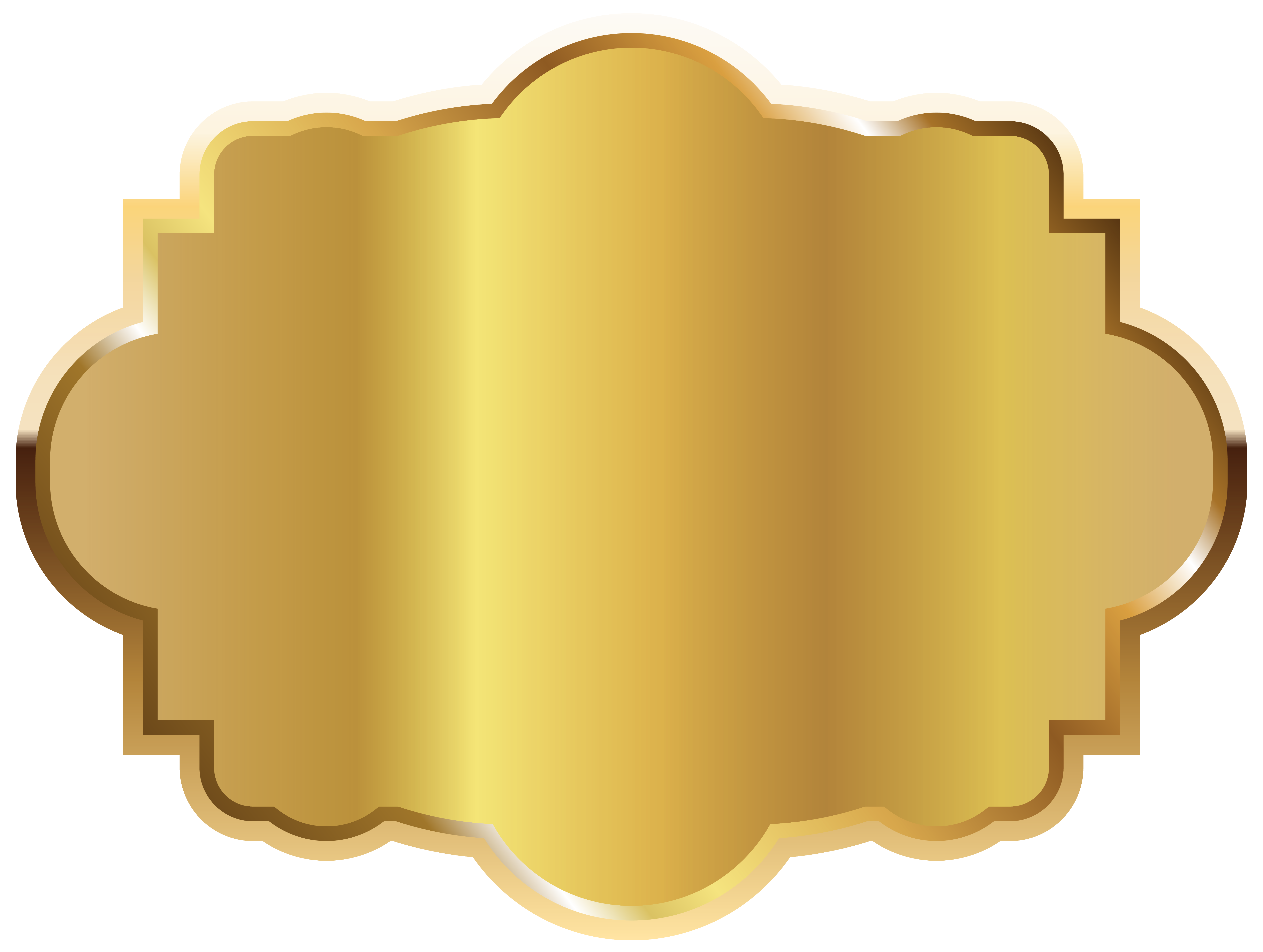 Gold labels png. Label template clipart picture