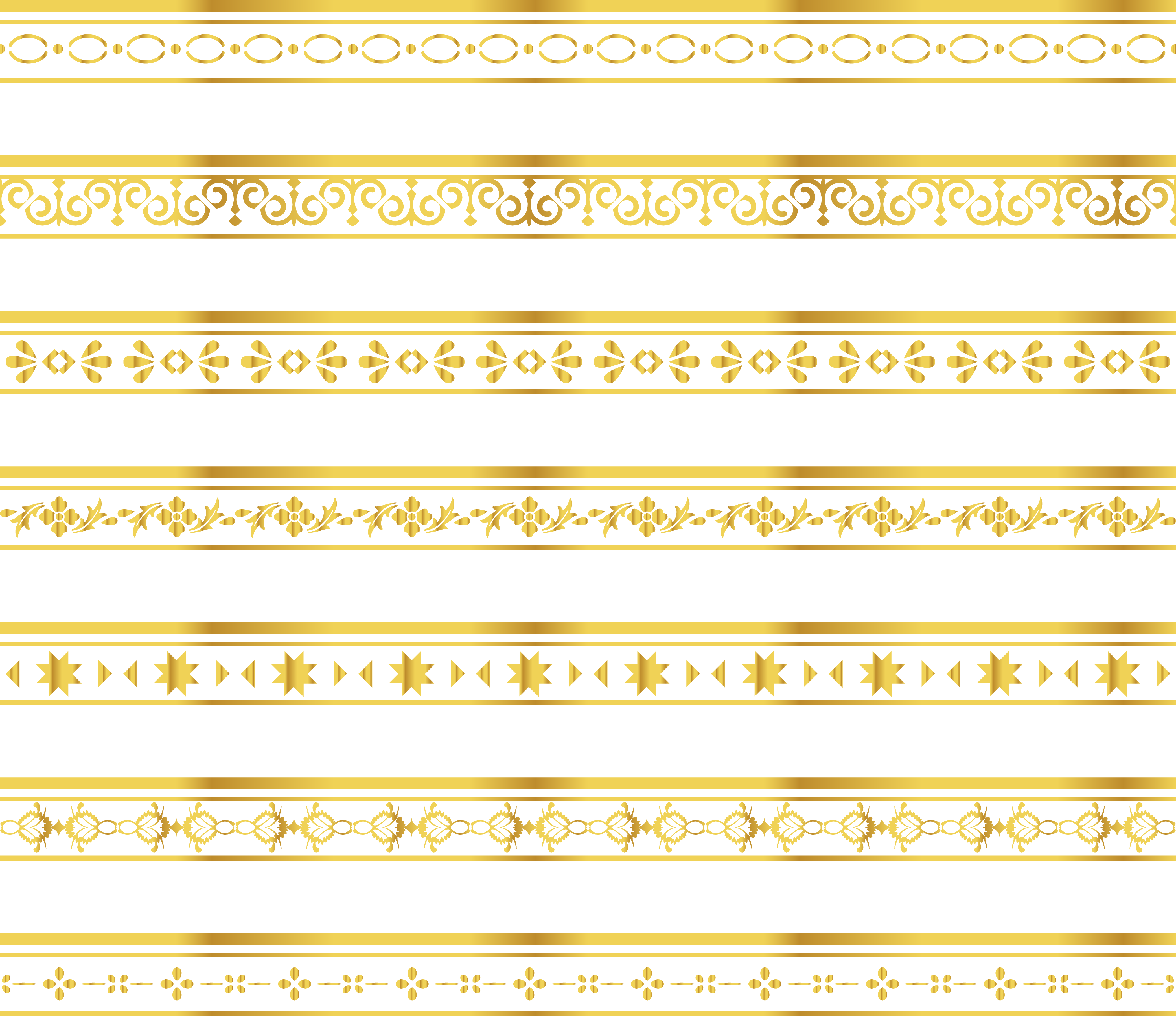 Gold lace border png. Material yellow pattern delicate
