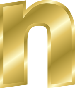 Gold letters png. Effect alphabet clipart i
